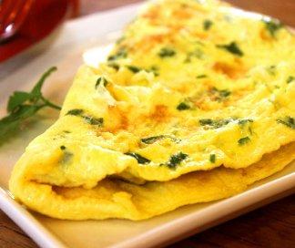 Omelete de Mussarela